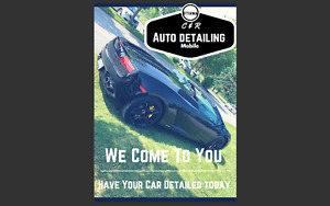 C & R auto detailing WE COME TO YOU