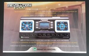 Monster Revolution 200 Remote Control (entertainment & lighting)
