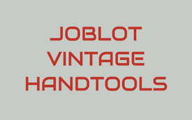 Joblot of vintage top names handtools