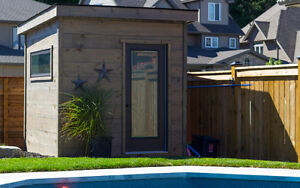 Modern Pool House Design Cambridge Kitchener Area image 1