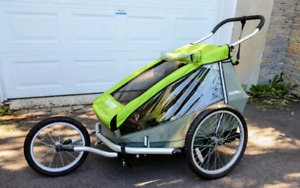 Chariot Double Croozer kids 2 comme neuf