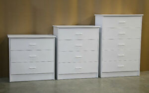 White 5 Drawer Dresser Chest **Brand New**