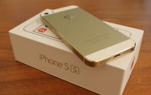Unlocked iphone 5s, 16GB, Gold, perfect Xmas gift