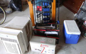 Miscellaneous Items: Ab Rocket, air bed, etc.