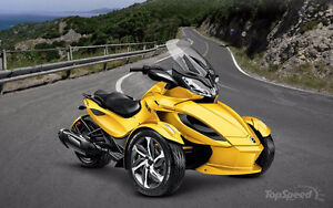 Can-Am Spyder ST-S 2014, 9500KM semi-automatique
