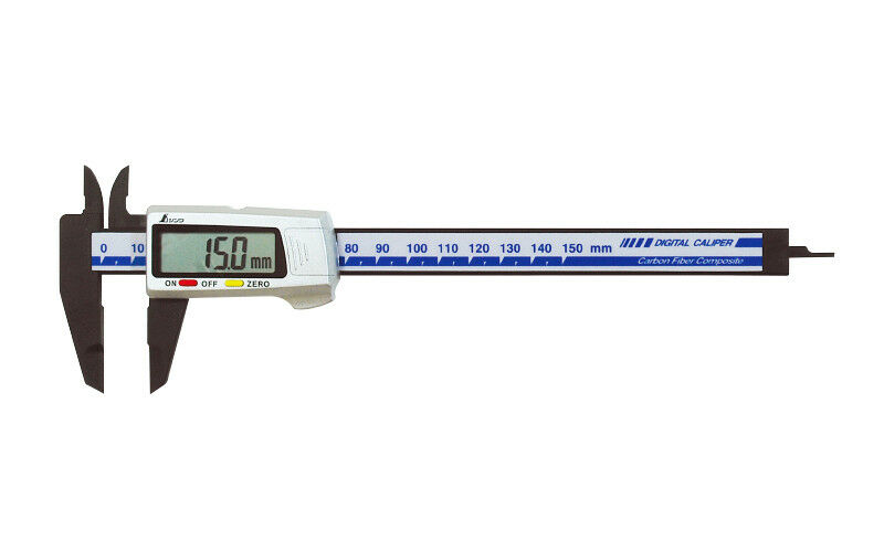 SHINWA Digital Vernier Caliper 100mm Metric Machinist 19978