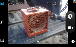 powerfull heater 220watts