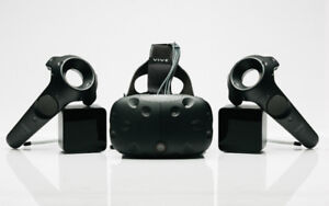 HTC VIVE (less than 20 hours use)