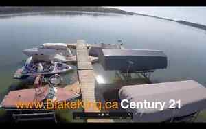 Water front and lakeview RV lots available at Pine Lake