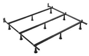 Deluxe Metal Bed Frame - Queen Queen / Black / Metal