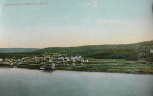 Antique and Vintage Postcards of Athabasca Area