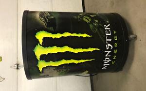 Monster Energy fridge, brand new/never used