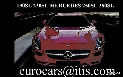 EUROCARS MERCEDES 190sl 230sl parts