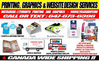 COMPLETE PRINTING, GRAPHICS & WEBSITE DESIGN SERVICES