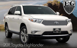 EG Classic mesh chrome grill for Toyota Highlander