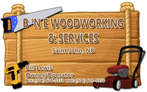 Lawn care @ affordable rates in the Saint John area