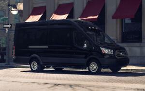 2018 Bristol Ford Transit Executive Shuttle Van/Bus