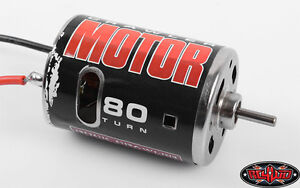 RC4WD 540 Crawler Brushed Motor 80T AX10, Trail Finder, SCX10