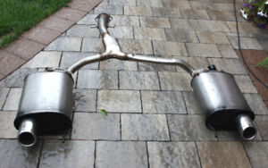 Dual Rear Exhaust for Lexus IS250 2006-2013