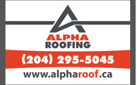 Book your professional roof replacement with ALPHA ROOFING