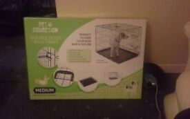 Dog cage/ dog accessories and a hamdter cage for sale