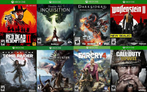 Xbox One Games For Sale or Trade - COD WW2, Red Dead 2, more