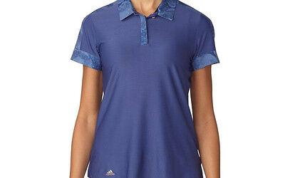 Adidas Mujer Deporte Estampado Polo (S) AE8981 Crudo Violeta