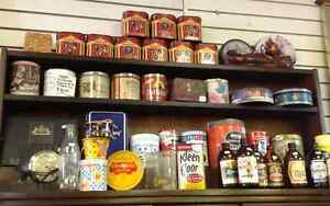 Tons of Collectible Cans and Bottles