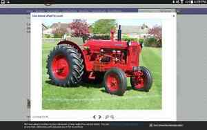 Wanted David Brown 50D vintage farm tractor