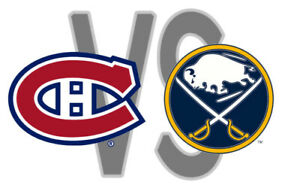 CANADIENS VS BUFFALO REDS/WHITES/GREYS MARCH.23RD