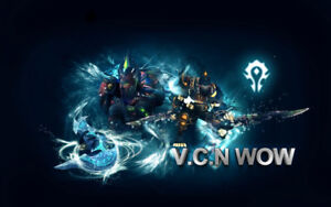 V.C.N WOW WORLD OF WARCRAFT PRIVATE CANADIAN SERVER
