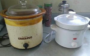 2 Crock Pots for $8 each