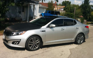 2014 Kia Optima SX Turbo - Low milage - high visual appeal