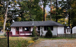 3 Bedroom Home with Gorgeous Fenced Lot Near Friday Harbour