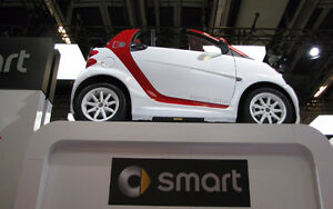 2014 Smart Fortwo Electric Drive Coupe (2 door)