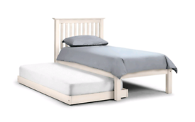 Single bed and guest bed