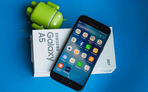 Samsung galaxy A5 brand new with case and box