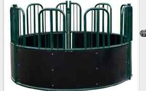 wanted used round hay feeder