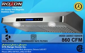 Baffle Filter Range Hood Under cabinet Range Hood  Fan from $449