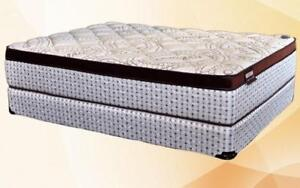 Orthopedic Euro Top Pocket Coil Mattress - Amenity King / Beige