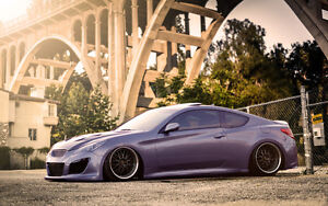 Hyundai Genesis Coupe ( 08-up) Yellow speed adjustable coilovers