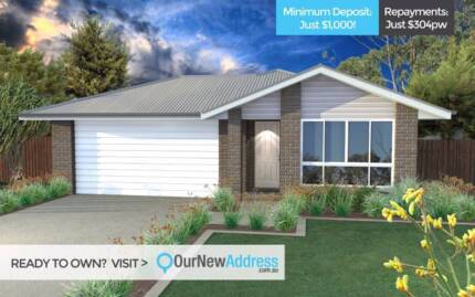 Low Deposit? Just $304pw to Own Your First Home!