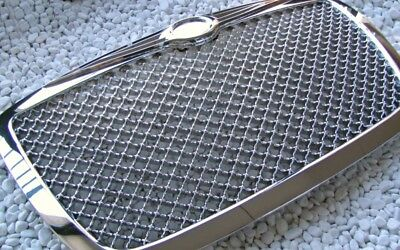 VOLL CHROM FRONT GRILL KÜHLERGRILL CHRYSLER 300 300C SPORT, BENTLEY LOOK TOP QT