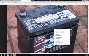 I need old  car or truck batteries for some  little projects