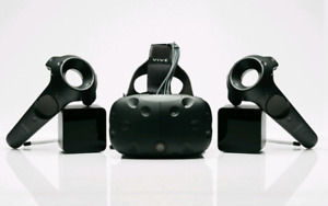 HTC vive less than 6 hrs of use.
