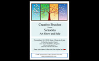 Creative Brushes Art Show and Sale