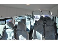2005 TRANSIT MINIBUS SEATS FROM A NURSERY MINIBUS WITH 49K ONLY IMMACULATE 80 SINGLE 120 DOUBLE OVNO