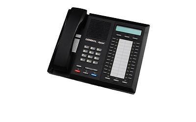 Lot Of 5 Fully Refurbished Comdial Impact 8024s Speaker Display Phone Black