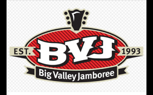 Big Valley Jamboree Reserved seats with camping