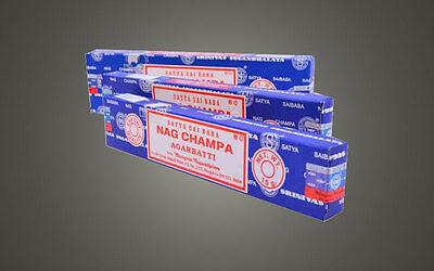 ++ GROSSPACKUNG SATYA  SAI BABA Nagchampa 12x15g Räucherstäbchen  Nag Champa +++